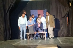 'Waterline' - a performance from Ubom! Eastern Cape Drama Company